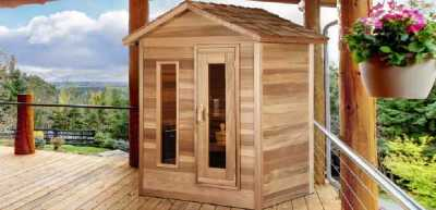 Award Leisure Outdoor Cedar Saunas
